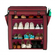4 Tier Powder-coating Shoe Racks