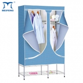 MEIFENG Garment Racks Flodable Rolling