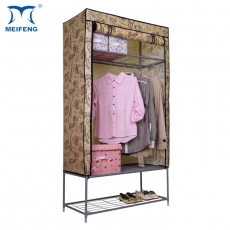 MEIFENG Covered Rolling Wardrobe With