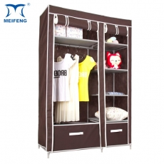 MEIFENG Clothes Hanging Rail Double