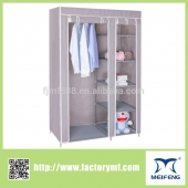 bedroom furniture folding fabric wardrobe
