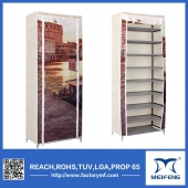 100 pair plastic shoe rack
