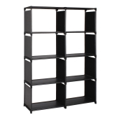 MEIFENG Fabric Bookcase Portable Storage